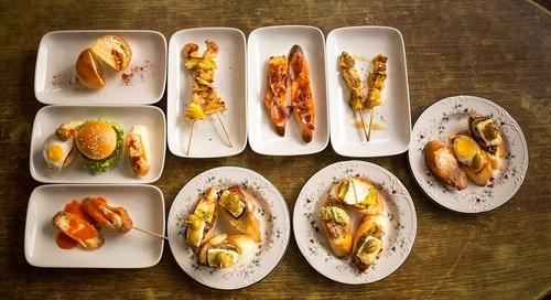 Spanish Bueno Cuisine only at Tapas Movida.