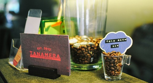 Jakarta Best Restaurant, Bar & Cafe Awards (BRBCA) 2015: Tanamera Coffee Review