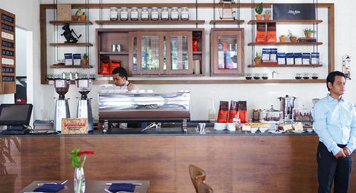 4 Kafe High-End di Gandaria