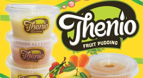 Thenio Pudding: Sangat Lembut