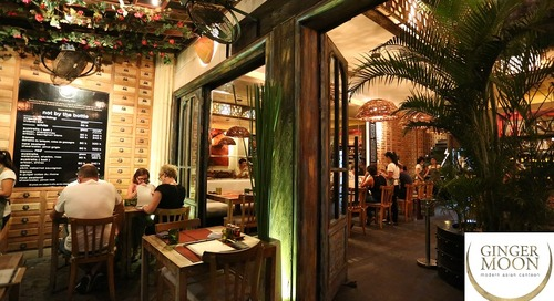 Bali Best Restaurant, Bar & Cafe Awards (BRBCA) 2015: Ginger Moon Canteen Review