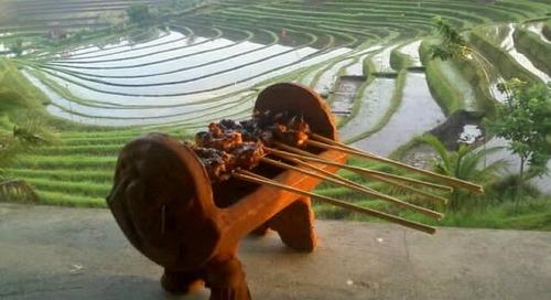 Menikmati Suguhan Khas Bali Yang Lezat di Warung Tepi Sawah