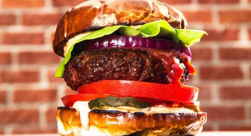Burger Masa Depan: Burger Tanpa Daging
