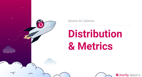 Session 4 - Optimize Session Overview