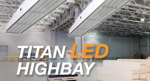 Delviro Titan HighBay LED Fixture