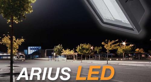 Arius LED Cobra Head Fixture