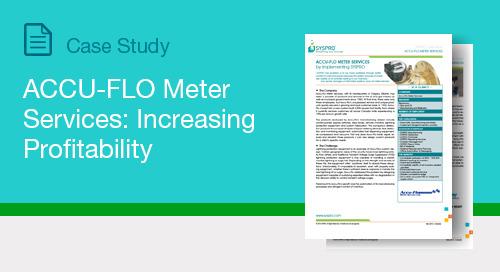 ACCU-FLO Meter Services: Increasing Profitability