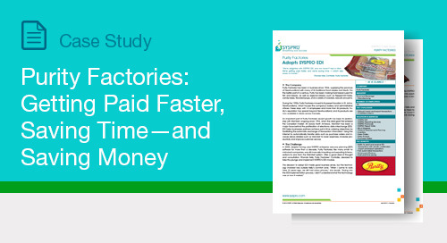 Purity Factories: Getting Paid Faster, Saving Time—and Saving Money