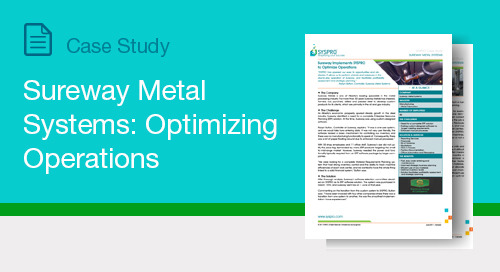 Sureway Metal Systems: Optimizing Operations