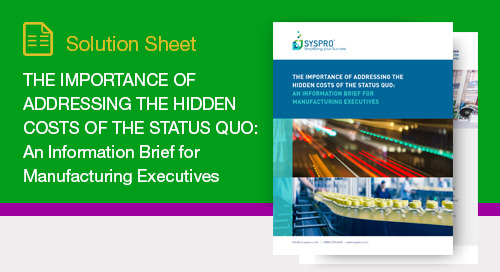 The Importance of Addressing the Hidden Costs of the Status Quo