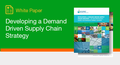Insights into how DDMRP can bring order to a volatile and complex supply chain