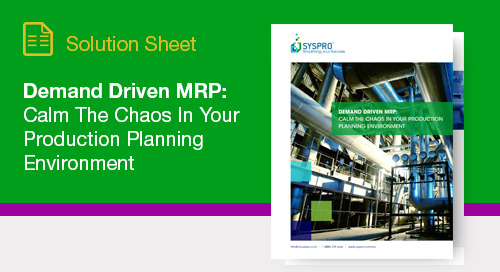 Why procurement leaders should implement DDMRP as part of their strategic business goals