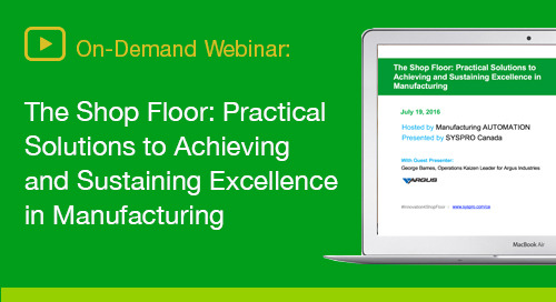 How to transform shop floor productivity and performance