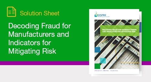 How to decode, identify and mitigate fraud risk