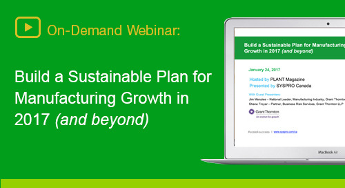 Discover actionable insights to prepare your manufacturing business for growth