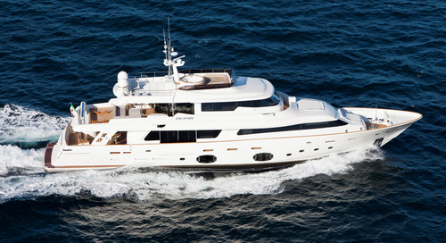 Custom Line yacht ZIACANAIA is a new listing for sale