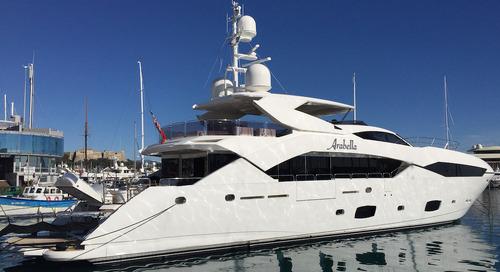 Sunseeker Predator motor yacht Arabella sold by KK Superyachts