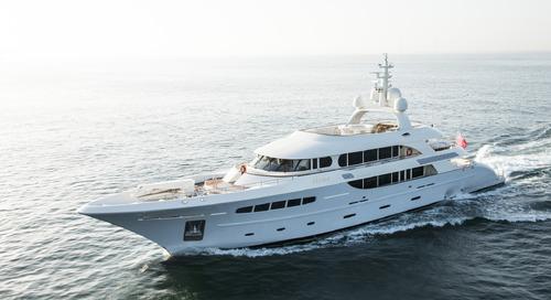 Superyacht Nassima joins KK Superyachts' charterfleet