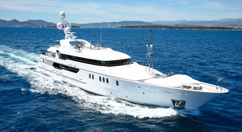Amels motor yacht SEAHORSE back on the market