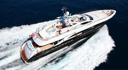 Heesen 37m PERLE NOIRE € 200,000 Price Drop!