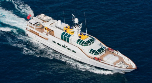 KK Superyachts Announces Iconic Feadship M/Y Azteca for Sale