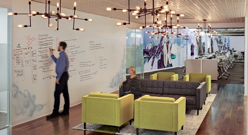 Relocating to more open environment on one floor fosters growth and collaboration