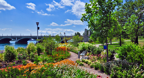 The Detroit Riverfront Conservancy