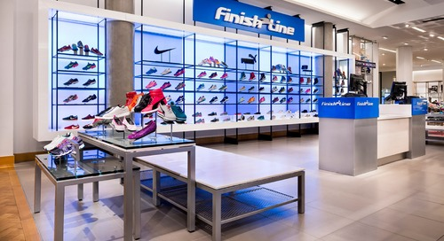 Retail partnership gets a boost to merchandise athletic shoes and apparel