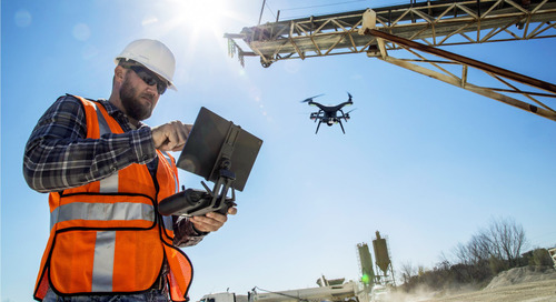 The construction industry is in love with drones