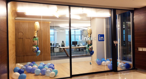 Linking employees together through collaborative space