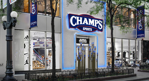 JLL brings Champs Sports' Chicago flagship to life