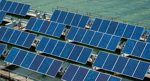 The rising tide of floating renewables