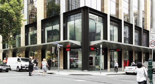 Revitalizing flagship retail store to reflect bank's new brand
