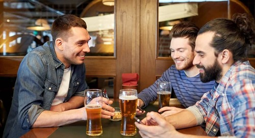 How the thirst for tap rooms is reviving UK towns