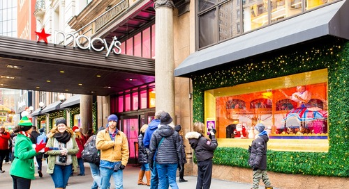 Why festive store windows are still prime real estate