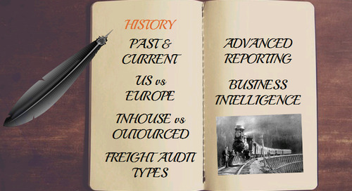 INFOGRAPHIC: The evolution of Freight Audit