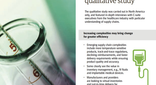 Distribution and logistics partnerships critical for healthcare companies
