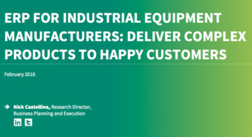 How Industrial Equipment Manufacturers can tailor technology challenges