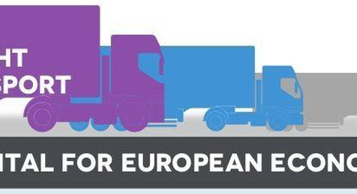Road Freight Transport Infographic