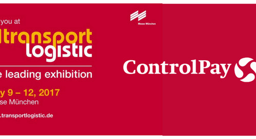 Meet ControlPay at the Transport Logistics 2017 in Münich
