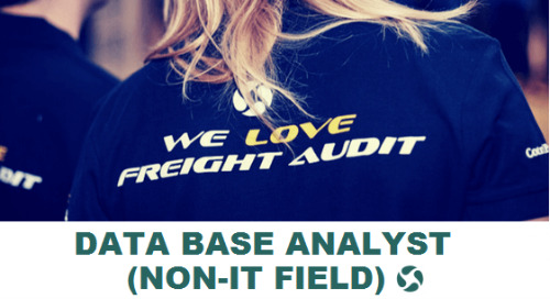 ControlPay vacancy - Data Base Analyst (non-IT field)