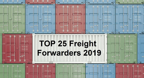 2019 Top 25 Global Freight Forwarders list