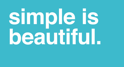 Simple is Usually Better