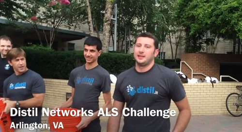 Distil's ALS Ice Bucket Challenge