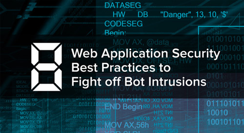 Eight Web Application Security Best Practices to Fight off Bot Intrusions
