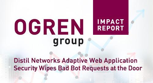 Ogren Group Report: Web Application Firewalls (WAF) vs Distil Networks