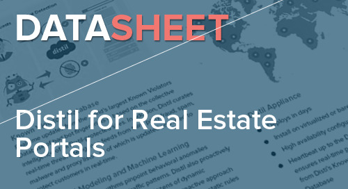 Distil for Real Estate Portals | Data Sheet
