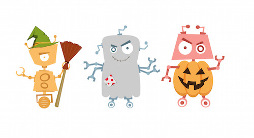 6 Scary Bots that'll be Knocking on your Website's Door this Halloween