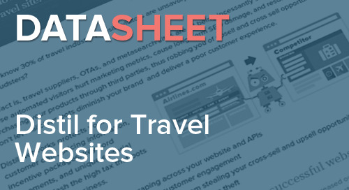 Distil Networks for Travel Websites | Data Sheet