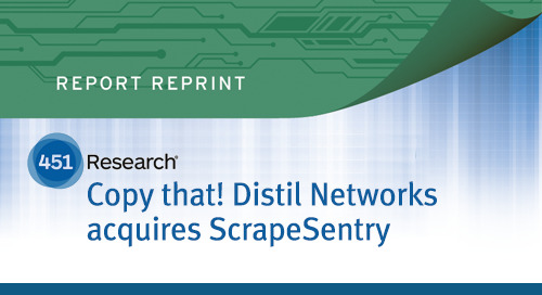 Distil Networks acquires ScrapeSentry